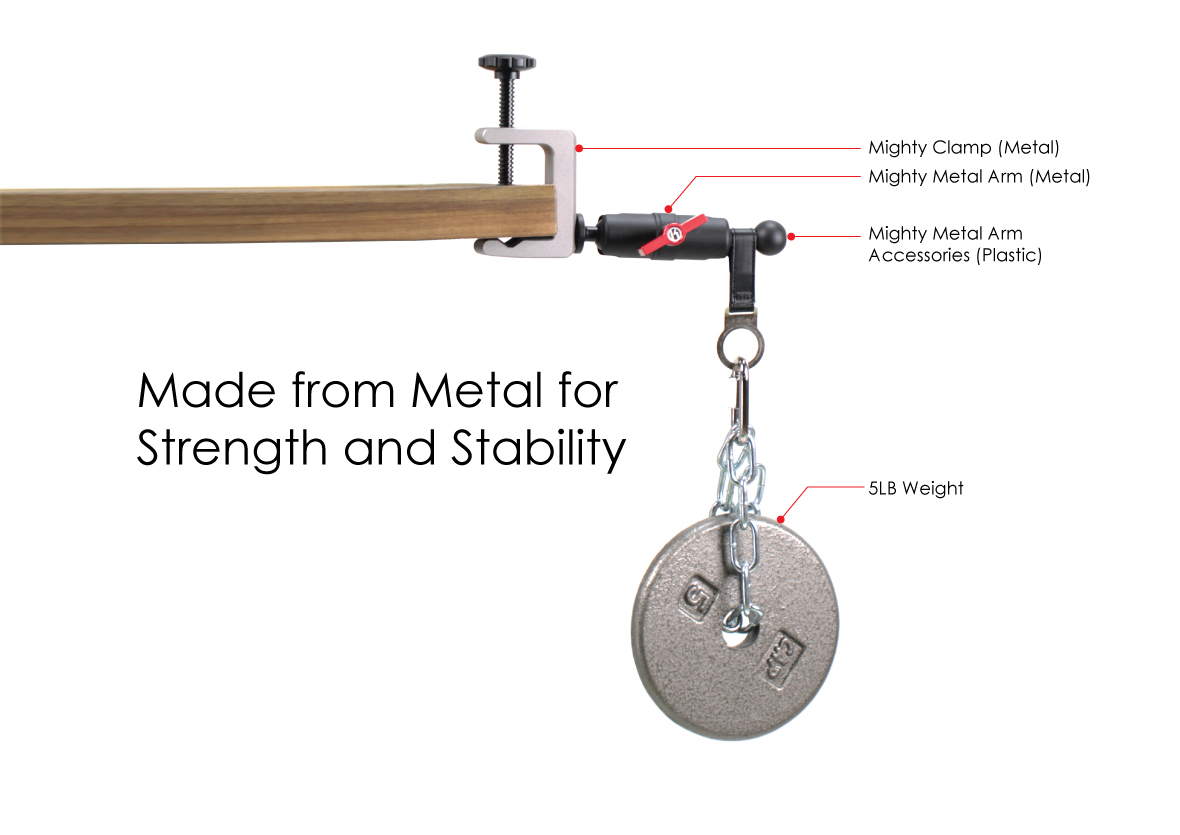 Mighty Metal Arm Clamp Kit