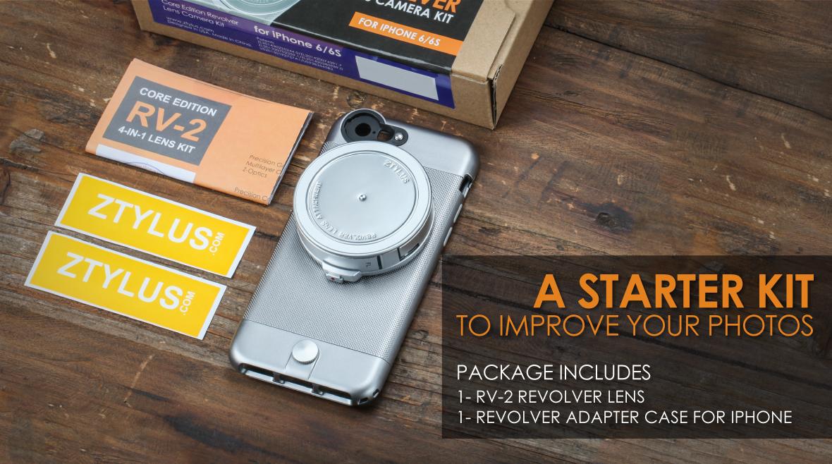 Revolver Lens Kit for iPhone 6