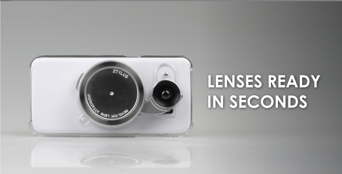 Ztylus Samsung S7 camera kit: LENSES READY IN SECONDS