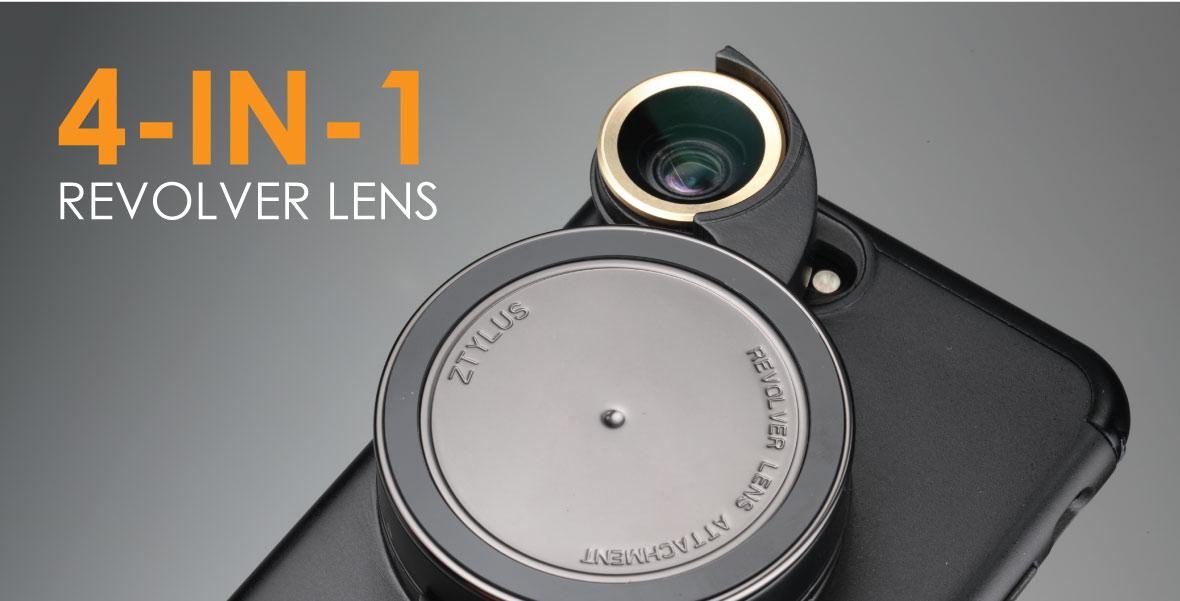 Revolver Lens Camera Kit for iPhone 7 Plus - Ztylus