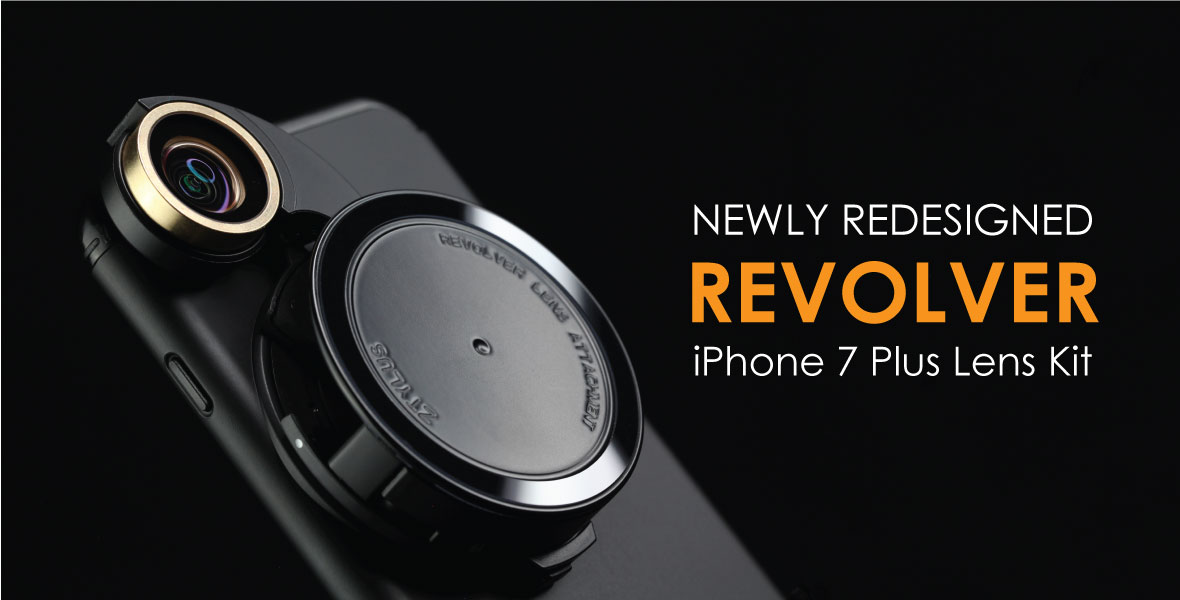 the best attitude f256f 1890b Revolver Lens Camera Kit for iPhone 7 Plus